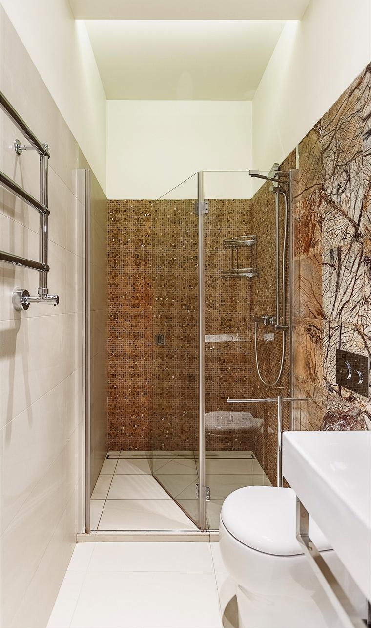 Квартира. ванная из проекта , фото №65749