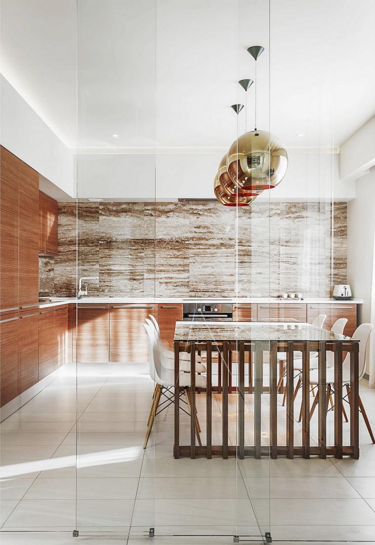 Фото № 65747 кухня  Квартира