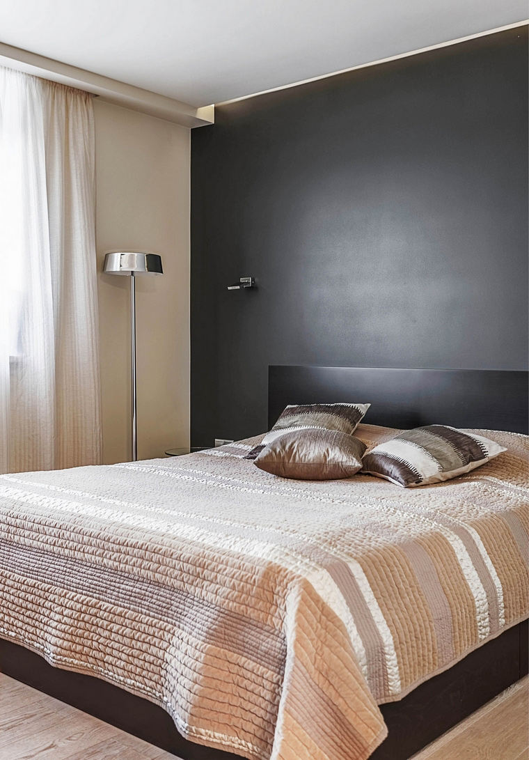 Квартира. спальня из проекта , фото №65750