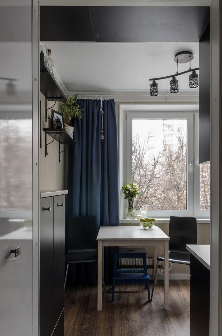 Квартира. кухня из проекта , фото №65807