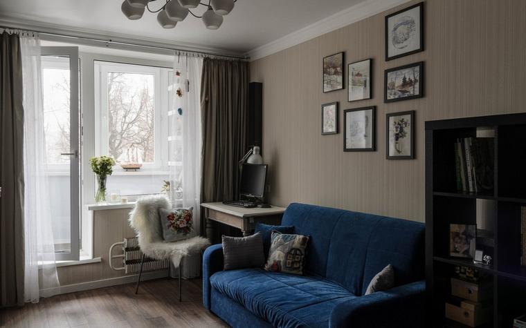 Квартира. гостиная из проекта , фото №65799