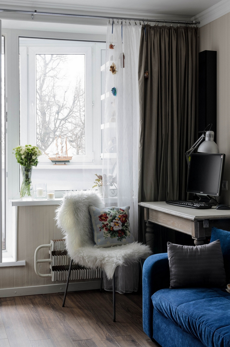Квартира. гостиная из проекта , фото №65800