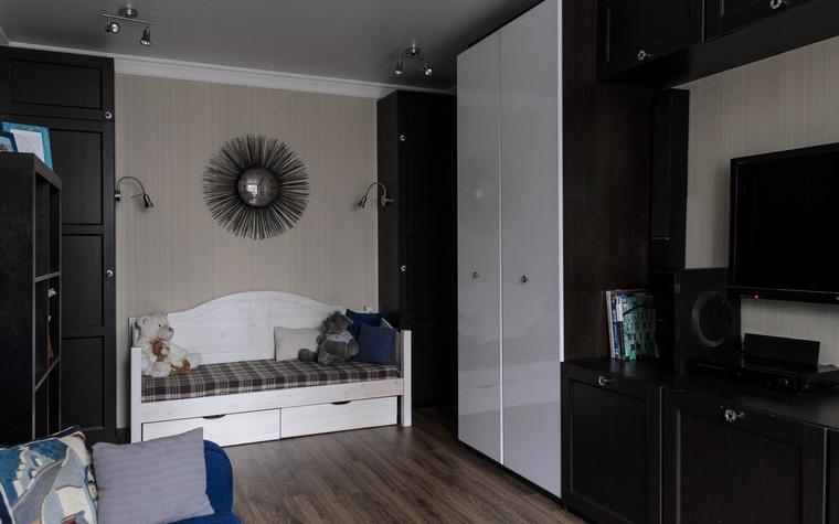 Квартира. гостиная из проекта , фото №65801