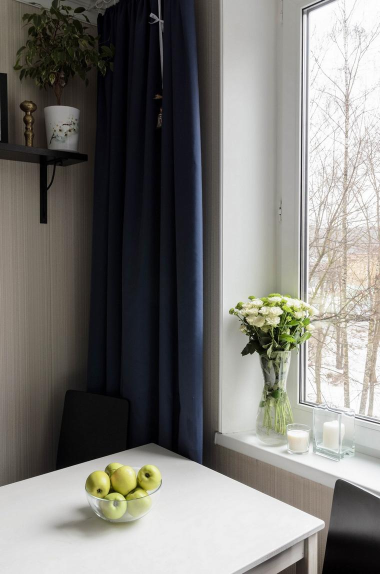Квартира. кухня из проекта , фото №65812