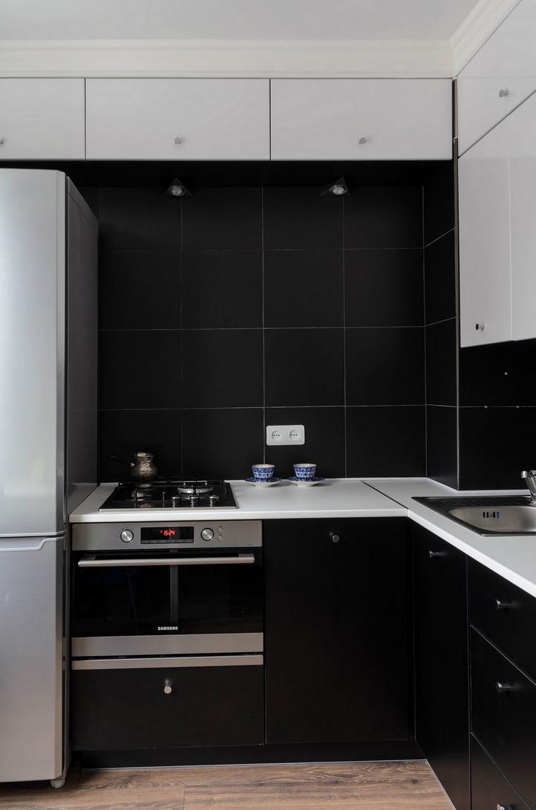 Квартира. кухня из проекта , фото №65804