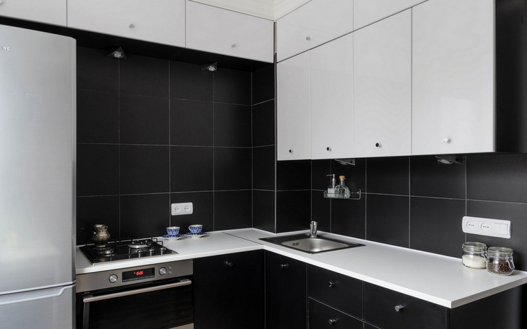 Квартира. кухня из проекта , фото №65805