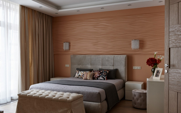 Квартира. спальня из проекта , фото №65927