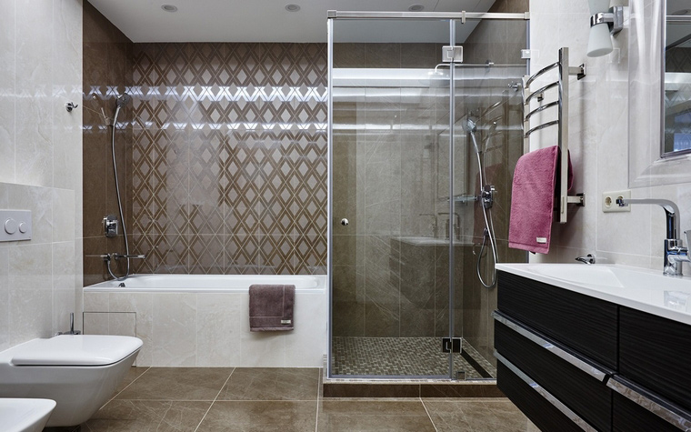 Квартира. ванная из проекта , фото №65932