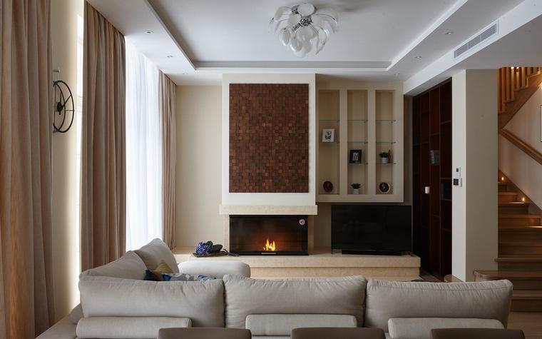 интерьер гостиной - фото № 65915