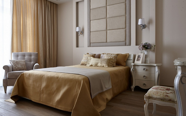 Квартира. спальня из проекта , фото №65926