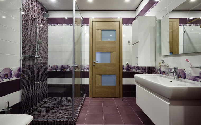 Квартира. ванная из проекта , фото №65931