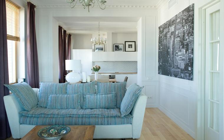 Квартира. гостиная из проекта , фото №65940