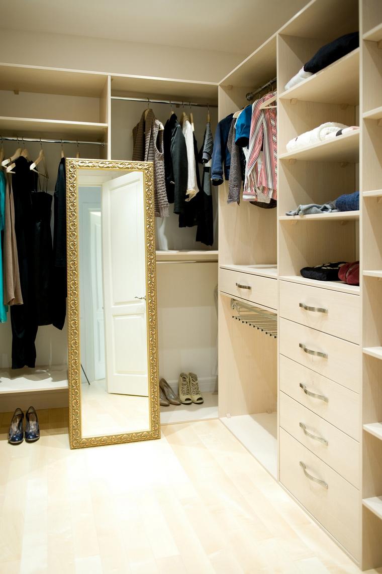 Квартира. гардеробная из проекта , фото №65949