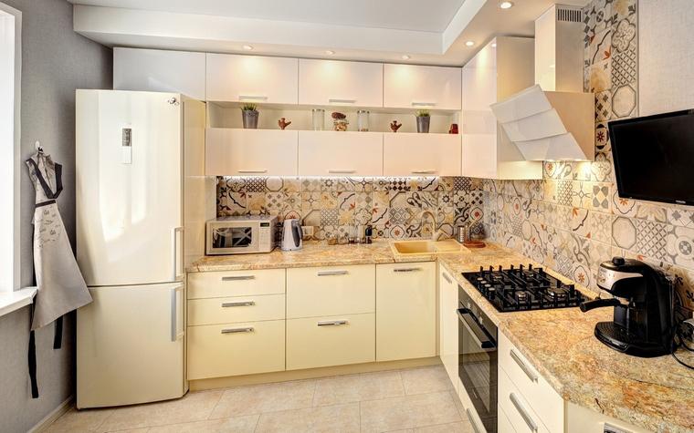 Фото № 65976 кухня  Квартира