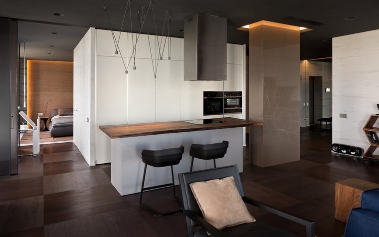Фото № 66067 кухня  Квартира