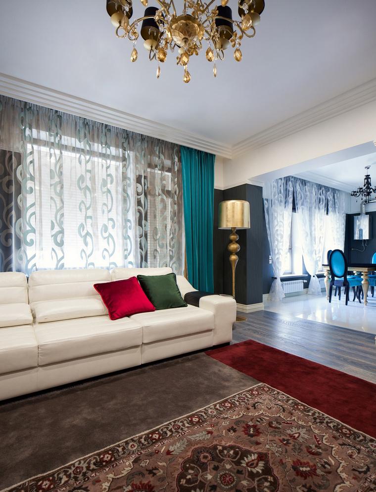 интерьер гостиной - фото № 66114