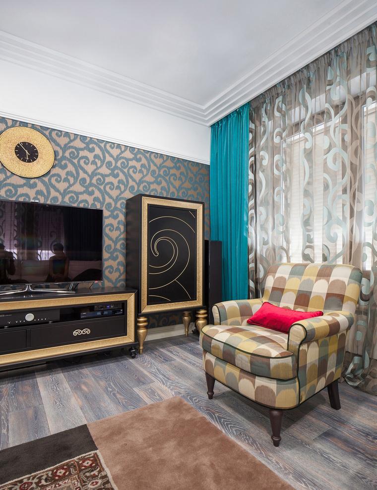 интерьер гостиной - фото № 66115