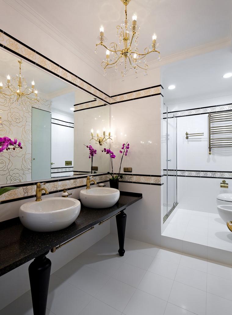 Фото № 66128 ванная  Квартира