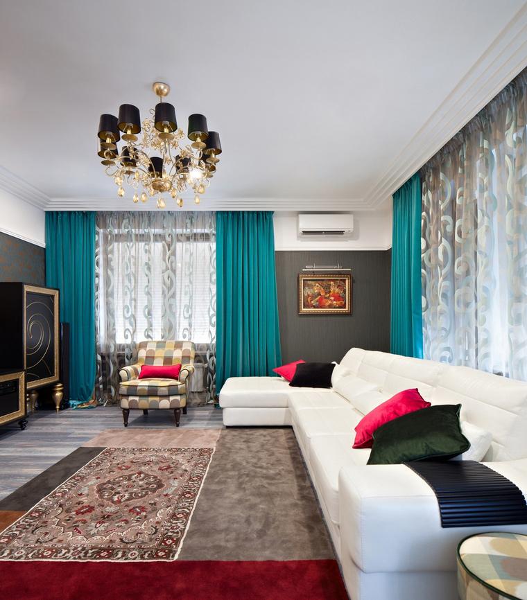 интерьер гостиной - фото № 66112