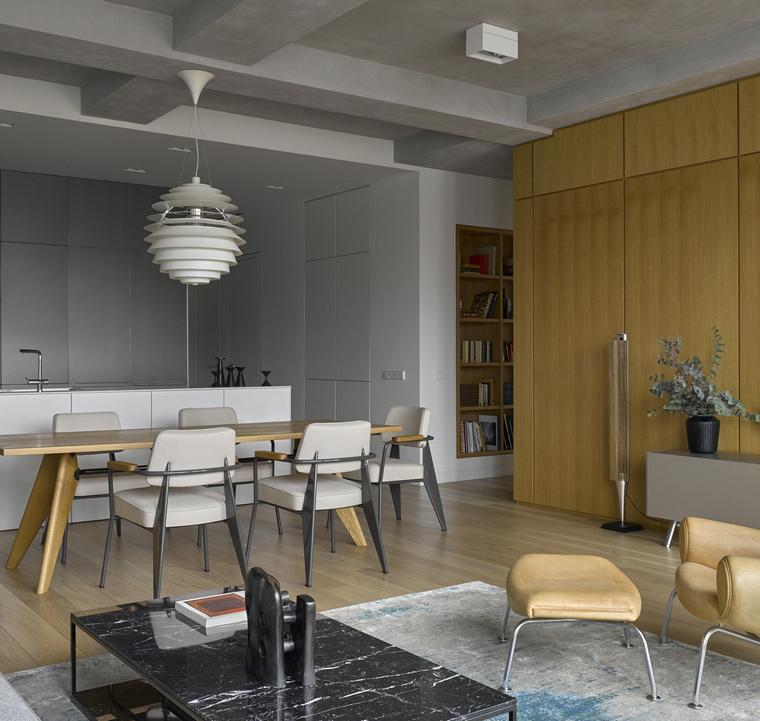Квартира. столовая из проекта , фото №66241