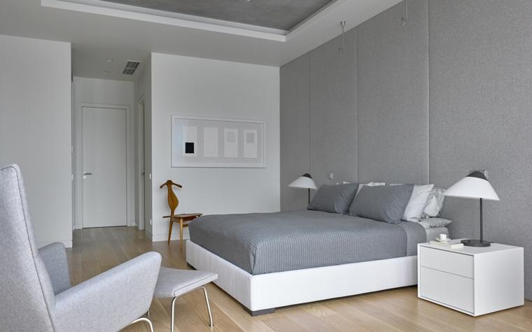 Квартира. спальня из проекта , фото №66245