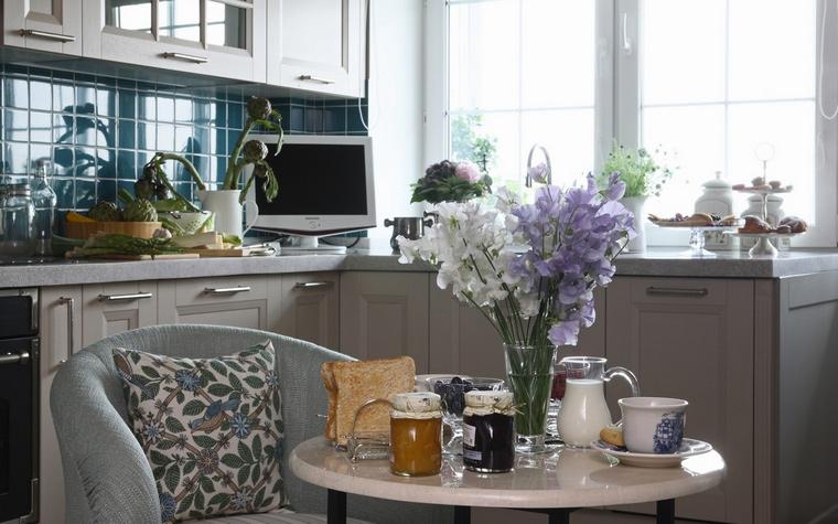 Фото № 66317 кухня  Квартира
