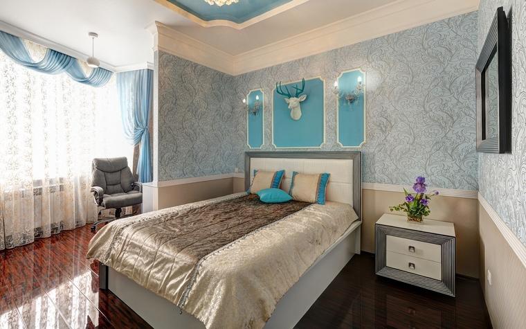 интерьер спальни - фото № 66328