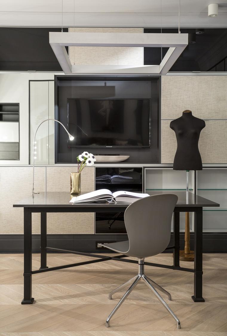 Квартира. кабинет из проекта , фото №66363