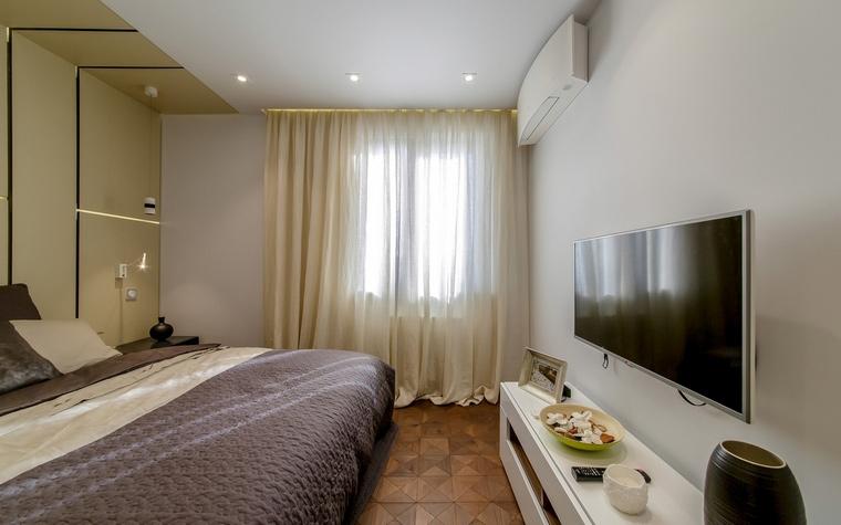 Квартира. спальня из проекта , фото №66408