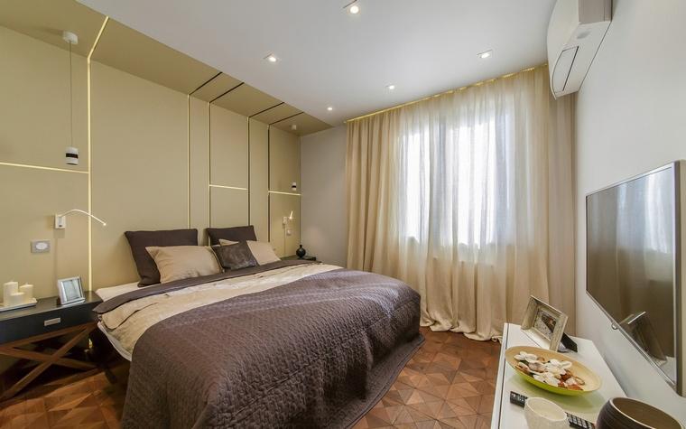 Квартира. спальня из проекта , фото №66410