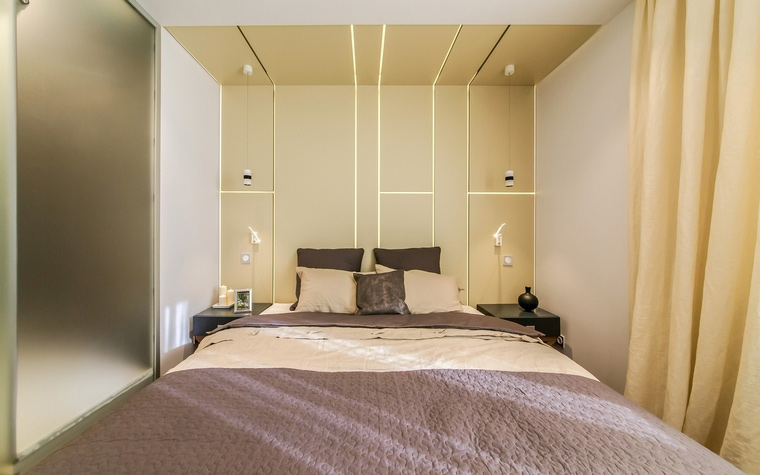 Квартира. спальня из проекта , фото №66411