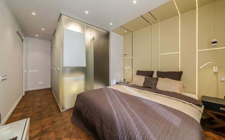 Квартира. спальня из проекта , фото №66412
