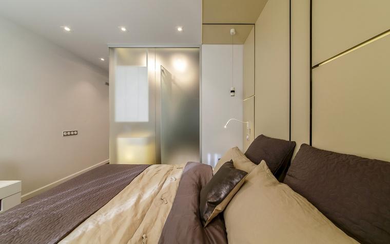 Квартира. спальня из проекта , фото №66406