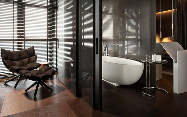 Квартира. ванная из проекта , фото №66489