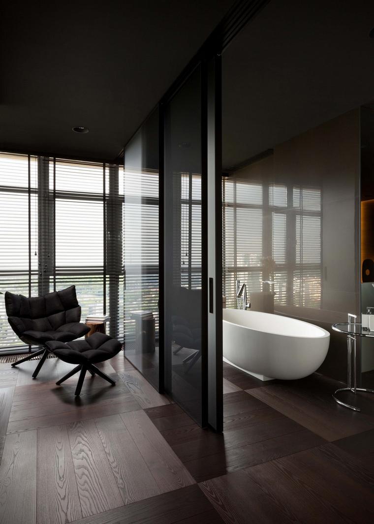 Квартира. ванная из проекта , фото №66490