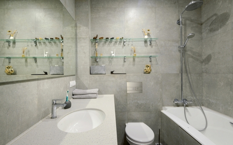 Фото № 66524 ванная  Квартира