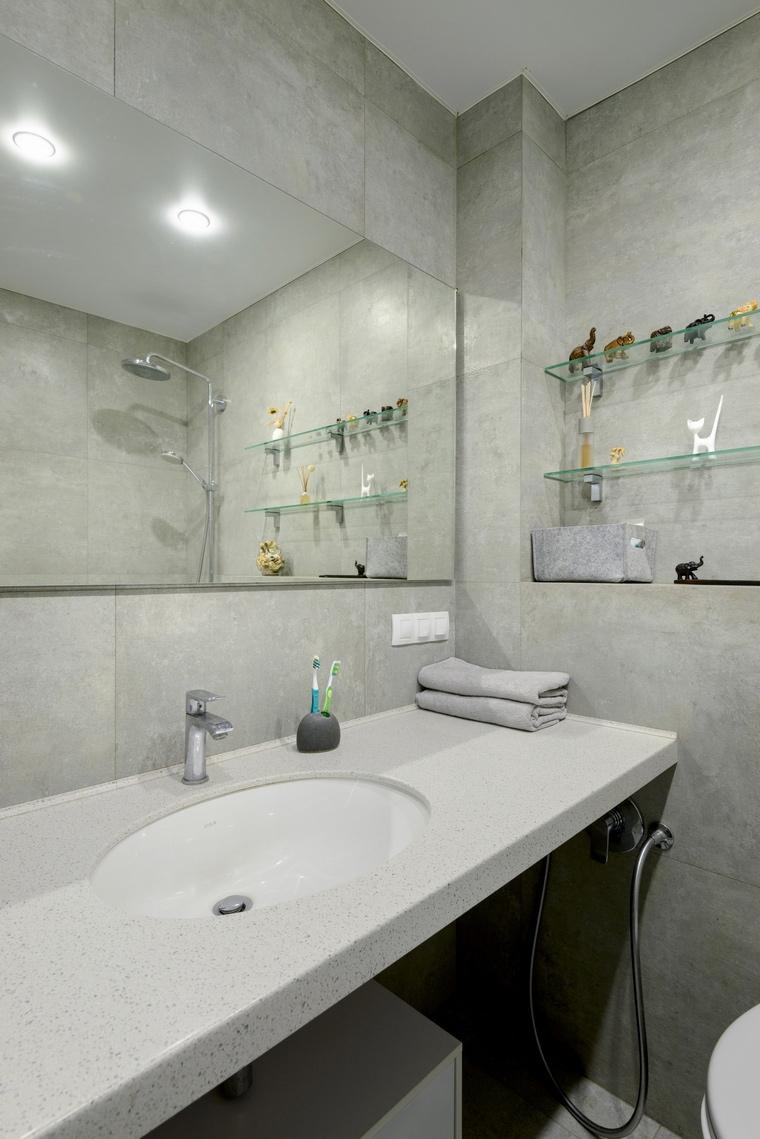 Фото № 66525 ванная  Квартира