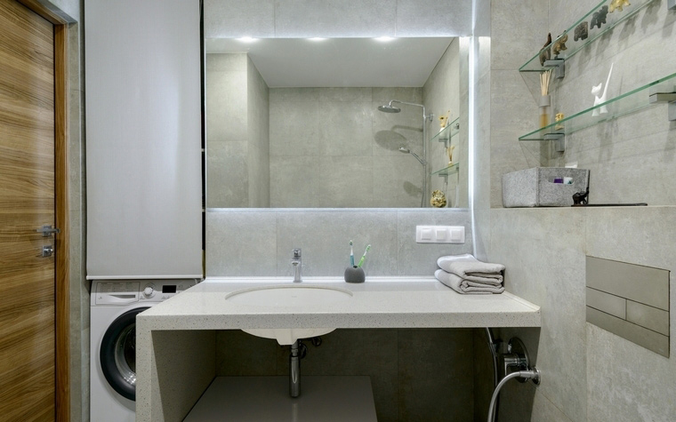 Фото № 66528 ванная  Квартира