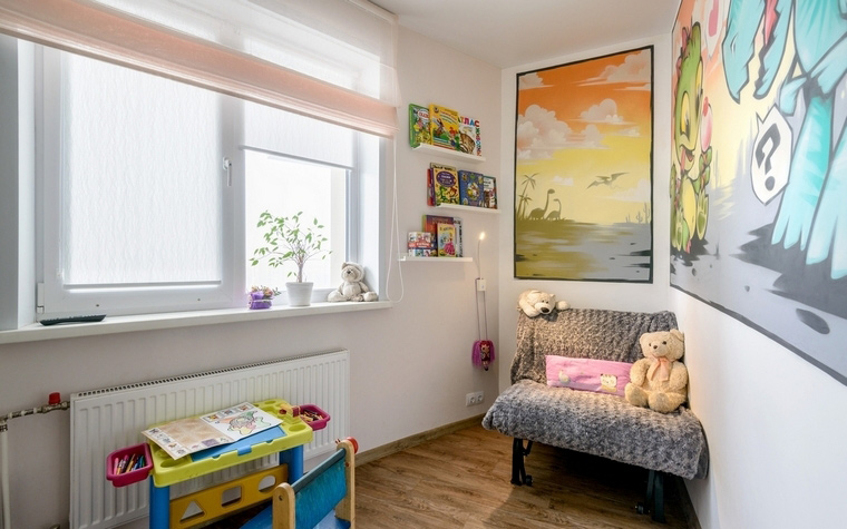 Квартира. детская из проекта , фото №66520