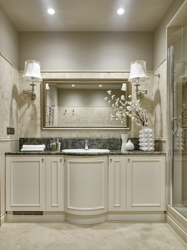 Фото № 66544 ванная  Квартира