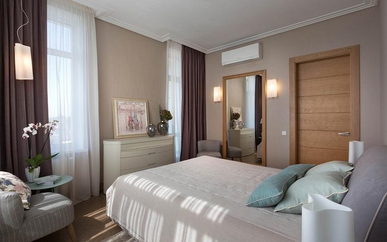 Квартира. спальня из проекта , фото №66614