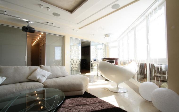 интерьер гостиной - фото № 66683