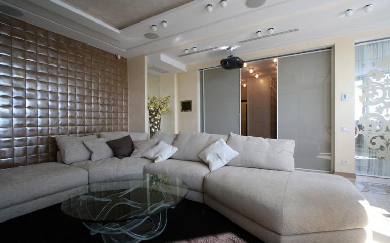 интерьер гостиной - фото № 66684