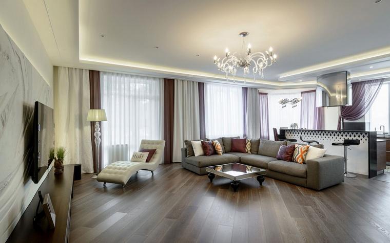Квартира. гостиная из проекта , фото №66700