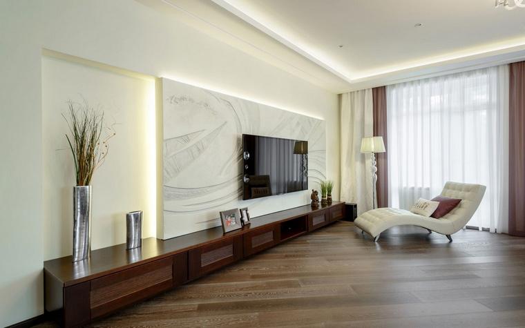 интерьер гостиной - фото № 66701