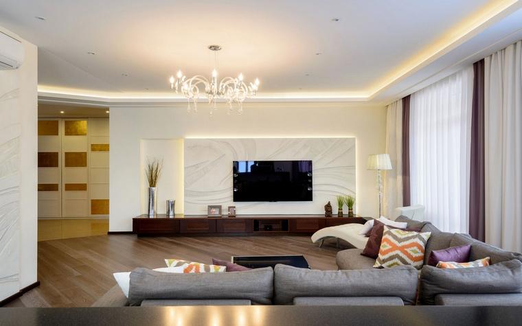 Квартира. гостиная из проекта , фото №66702
