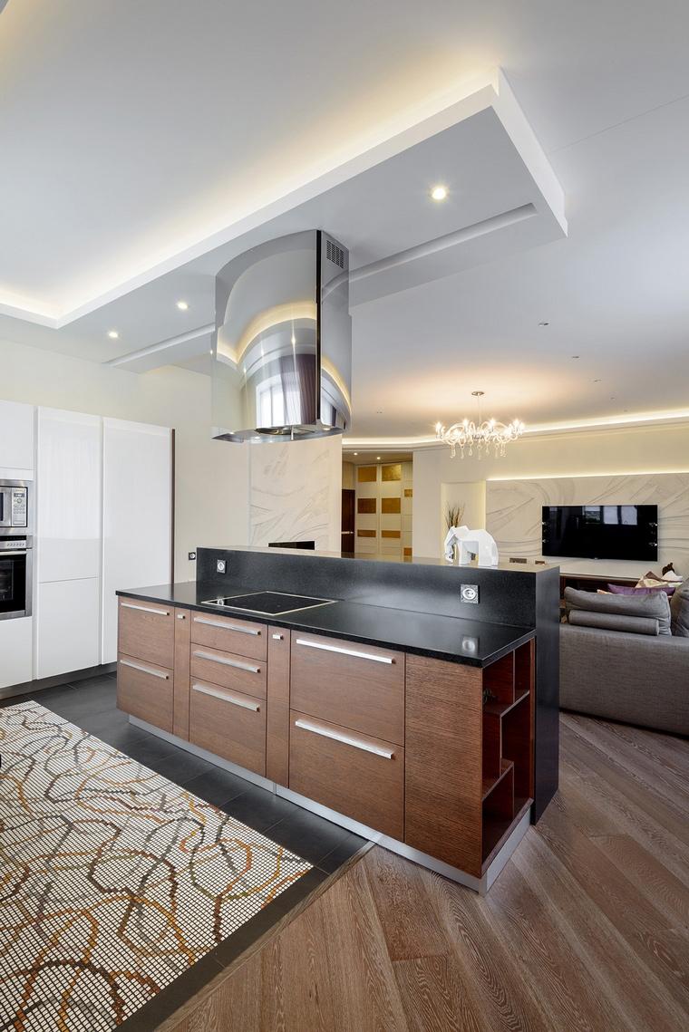 Квартира. кухня из проекта , фото №66706