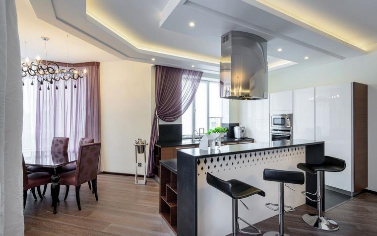 Квартира. кухня из проекта , фото №66708