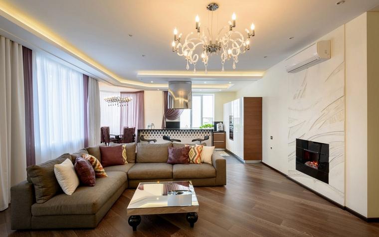 интерьер гостиной - фото № 66705