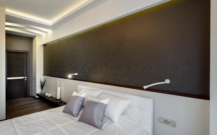 Квартира. спальня из проекта , фото №66711